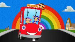 Wheels On the Bus   Nursery Rhymes