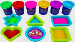 Colors and shape let's play doh