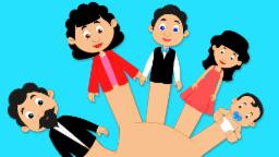 Finger Family Kids song and nursery rhymes for toddler
