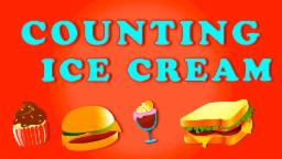 Counting Ice Creams | Learn Numbers from 1 to 8
