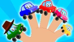 car finger family | Little Red Car | Finger Family Song