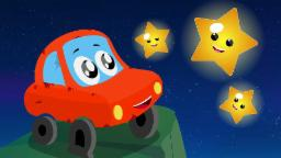 Little Red Car | Twinkle Twinkle Little Star | Car Songs