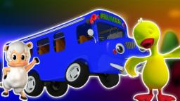 Ruote del bus | Canzone bambini | Filastrocca | Kids Song | Kids Rhyme | Wheels On The Bus