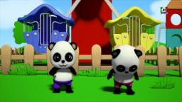 da fileira da fileira seu barco | Baby Bao Panda | Row Row Row Your Boat | Baby Songs | Kids Rhymes