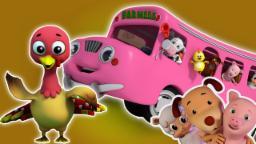 Rodas no ônibus | Rima para crianças | crianças música | Nursery Rhyme For Kids | Wheels On The Bus