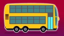 Berlín Autobús Lavado de coches   Historieta de los niños   Kids Video   Berlin Bus Car Wash