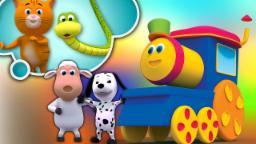 友谊歌  歌曲为孩子   3D童谣   鲍勃火车   Rhymes For Kids  Kids Poems   3D Songs   Bob The Train   Friendship Song