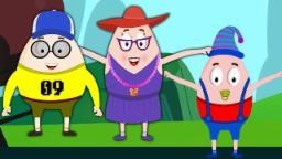 Humpty dumpty Dedo Família | Rima para crianças | Canções de bebê | Finger Family Song