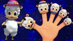 pecore dito famiglia | dito famiglia rima | rime per bambini | Finger Song | Sheeps Finger Family