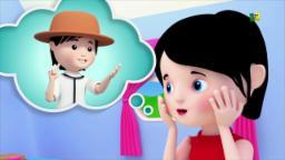 Senhorita Polly teve um Dolly | Rimas de berçário | pré-escolares Canções | Miss Polly Had A Dolly