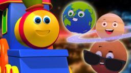 Bob o trem | planetas canção | Rima de crianças | Solar System Song | Bob The Train | Planets Song