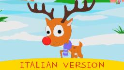 Rudolph , la renna naso rosso | Rudolph, the red nose reindeer