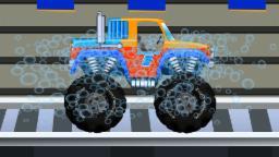 lavaggio monster truck