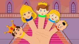 Finger Family | Royal Family | Nursery Rhyme with Lyrics