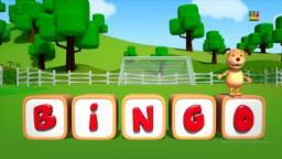 Canção de bingo | Rimas para crianças | Canção de bebê | Bingo Dog Song | Songs For Children