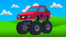 Le camion monstre | bande dessinée monstre camion |Monster truck