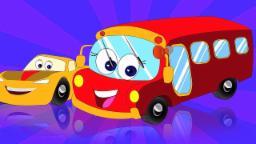 Колеса на автобусе | песни для детей | детские стишки | Kids Rhymes | Kids Poems | Wheels On The Bus