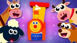 Ben The Train - Ben Goes To MacDonald's Farm   Old MacDonald Had A Farm   Nursery Rhymes For Kids