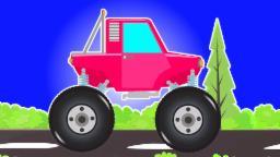 escenas peligrosas camión monstruo policía | vídeo popular para niños | Police Monster Truck Stunts