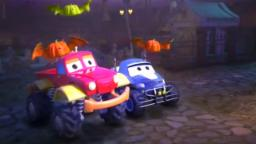 Monster Truck Dan | Jack O Lantern | Halloween Compilation