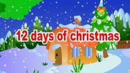 Giáng sinh vui vẻ | Twelve Days of Christmas | Christmas Song |