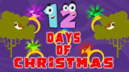 Doze dias de Natal | Canções de férias | Merry Christmas | Christmas Song | Twelve Days of Christmas