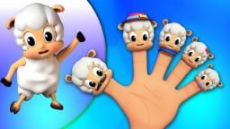 moutons doigts Famille | Comptines pour enfants | doigt Chanson | Sheep Finger Family Song
