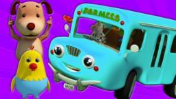 Колеса на автобусе | детского стишка | Kids Song | Nursery Rhyme For Kids | Wheels on the Bus