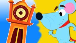 Doca dickory da hicória | Rima berçário | Canções pré-escolares | Kids Songs | Hickory Dickory Dock