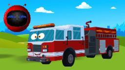 소방차 |  sobangcha | Zobic Fire truck