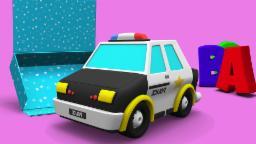 선물 상자  경찰 차 | seonmul sangja gyeongchal cha | Gift Box -Police Car