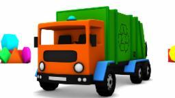 caixa de brinquedos - caminhão de lixo