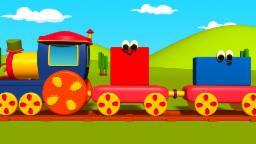 Bob, O Trem – Formas Geométricas