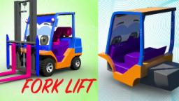 carrello elevatore | formazione e usi | Forklift | Formation & Uses | Videos For Children & Kids