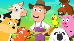 Old Macdonald Had A Farm | Nursery  Rhymes | Kids Songs | Baby Rhymes | Farm Song