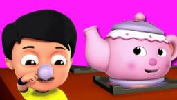 Je suis une petite théière | comptine | Nursery Kids Song | Kids Rhymes | I Am A Little Teapot
