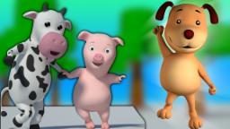 Ringa Ringa กุหลาบ | เพลงเด็ก | เด็กสัมผัสสำหรับเด็ก | Kids Song | Nursery Rhyme | Ringa Ringa Roses