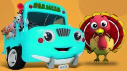 Roues sur le bus | Musique pour enfants | Comptine | Kids Song | Kids Rhyme | The Wheels On The Bus