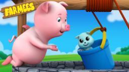 Ding Dong Bell | Nursery Rhymes Farmees | Kids Songs | Baby Rhymes | Childrens Videos