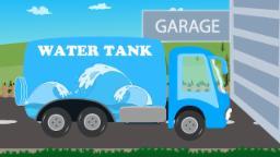water tank   Car Garage   Game Video for Kids & Toddlers