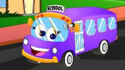 Wheels on the bus children's song | Nursery rhymes