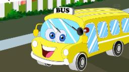 Wheels On The Bus | Nursery Rhymes With Lyrics