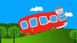 Wheels on the bus   Fun nursery rhymes   Kids songs