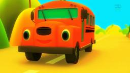 Wheels on the bus | Nursery rhymes with lyrics | Popular nursery rhymes