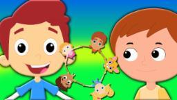 Ringa Ringa Rosas | miúdos rimas| Musica infantil | Nursery Rhymes For Children | Ringa Ringa Roses