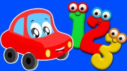 Numbers Song | Ten Little Numbers | Cars And Truck Rhymes