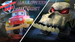 Monster Truck Dan | Its Halloween Night | Cars and Trucks Cartoon | Scary cars