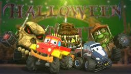 Monster Truck Dan and the Halloween night | scary monster trucks | Its halloween night
