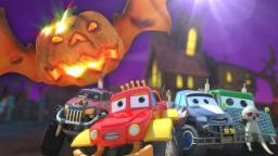 Monster Truck Dan | Jack O Lantern | Halloween Song For Kids | Scary Monster trucks