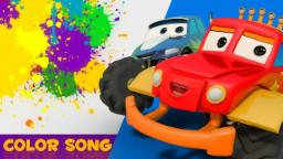 Colors SOng | Monster Truck Dan Junior |nursery rhymes